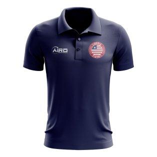Liberia Football Polo Shirt (Navy)