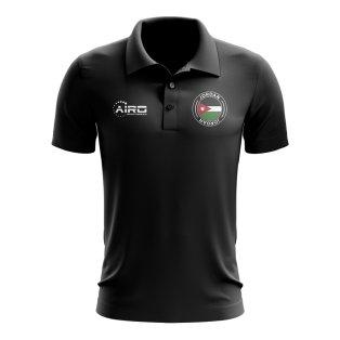 Jordan Football Polo Shirt (Black)