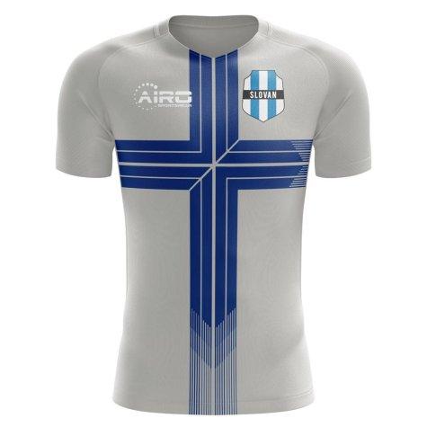 2019-2020 Slovan Bratislava Away Concept Football Shirt - Kids