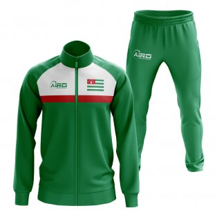 Abkhazia Concept Football Tracksuit (Green)