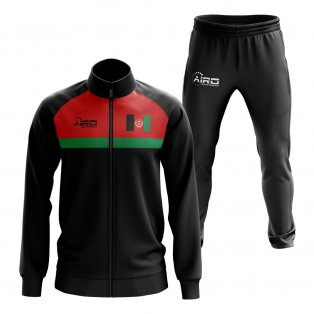 Afghanistan Concept Football Tracksuit (Black)