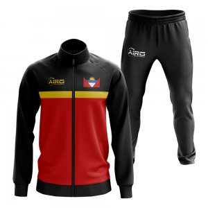 Antigua and Barbados Concept Football Tracksuit (Blue)