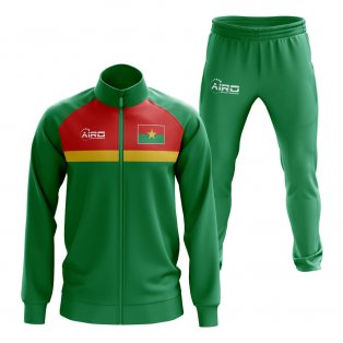Burkino Faso Concept Football Tracksuit (Green)