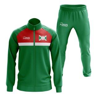 Burundi Concept Football Tracksuit (Green)