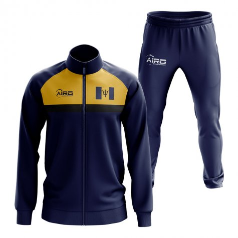 Barbados Concept Football Tracksuit (Navy)