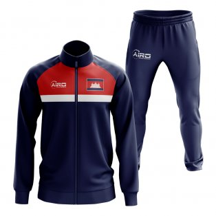Cambodia Concept Football Tracksuit (Navy)