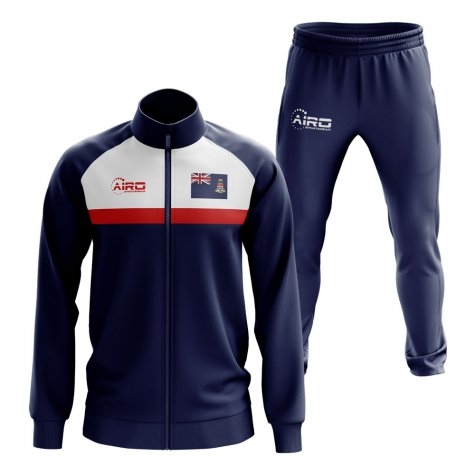 Cayman Islands Concept Football Tracksuit (Navy)