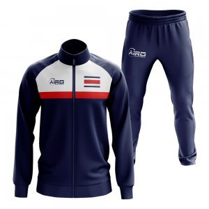 Costa Rica Concept Football Tracksuit (Navy)