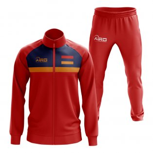 Armenia Concept Football Tracksuit (Red)