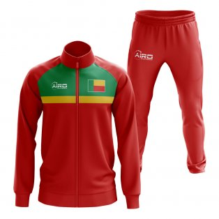 Benin Concept Football Tracksuit (Red)