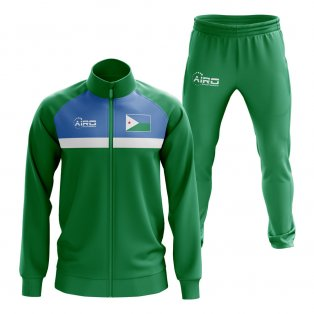 Djibouti Concept Football Tracksuit (Green)