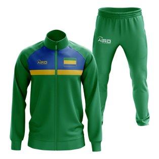Gabon Concept Football Tracksuit (Green)