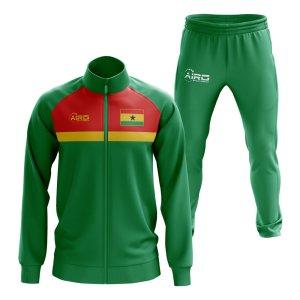 Ghana Concept Football Tracksuit (Green)