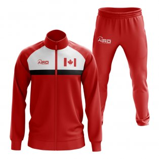 Canada Concept Football Tracksuit (Red)