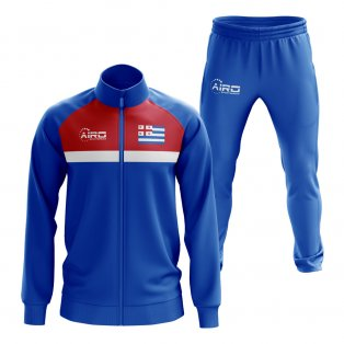 Ajaria Concept Football Tracksuit (Royal)