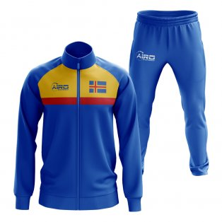Aland Concept Football Tracksuit (Royal)