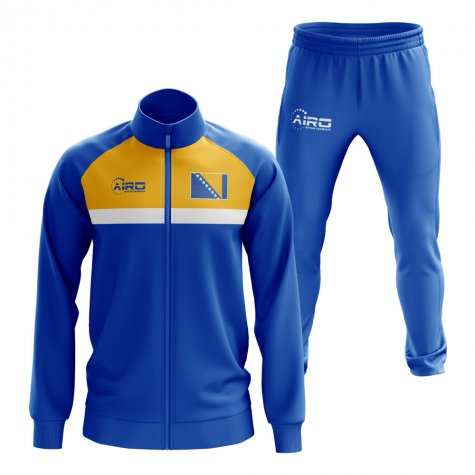 Bosnia Concept Football Tracksuit (Royal)