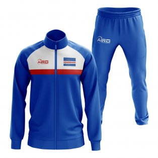 Cape Verde Concept Football Tracksuit (Royal)