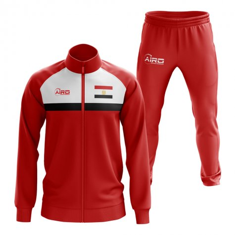 Eqypt Concept Football Tracksuit (Red)