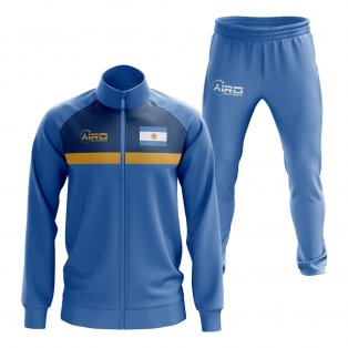 Argentina Concept Football Tracksuit (Sky)