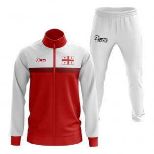 Georgia Concept Football Tracksuit (White)