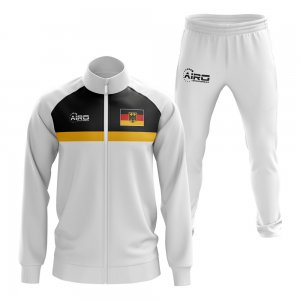 Germany Concept Football Tracksuit (White)