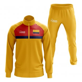 39417939500 Colombia Concept Football Tracksuit (Yellow)