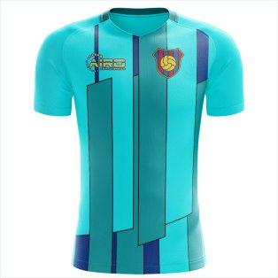 the best attitude 78380 fcbab 2019-2020 Barcelona Ronaldo Third Concept Shirt