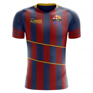 2019-2020 Barcelona Home Concept Shirt - Kids