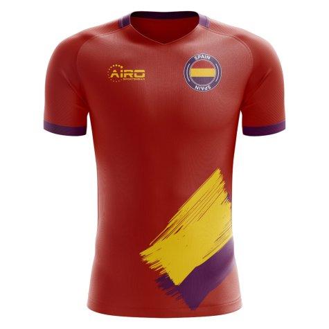 2019-2020 Spanish Republic Home Concept Football Shirt