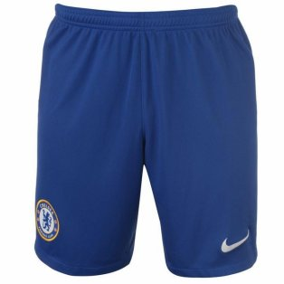 2019-2020 Chelsea Home Nike Football Shorts (Blue)