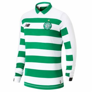2019-2020 Celtic Home Long Sleeve Shirt (Kids)