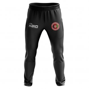 Afghanistan Concept Football Training Pants (Black)