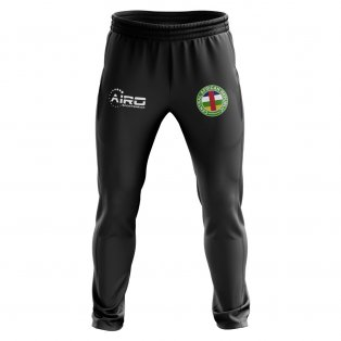 Central African Republic Concept Football Training Pants (Black)