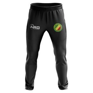 Congo Republic Concept Football Training Pants (Black)