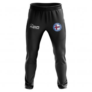 Faroe Islands Concept Football Training Pants (Black)