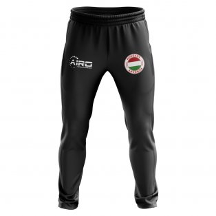Hungary Concept Football Training Pants (Black)