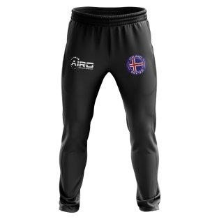 Iceland Concept Football Training Pants (Black)
