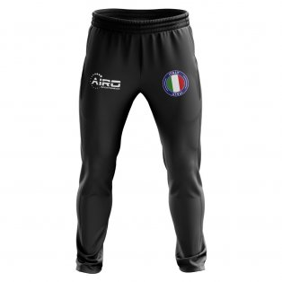 Italy Concept Football Training Pants (Black)