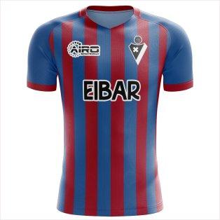 2020-2021 Eibar Home Concept Football Shirt