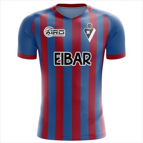 2019-2020 Eibar Home Concept Football Shirt