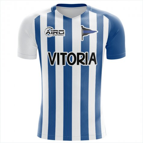2019-2020 Deportivo Alaves Home Concept Football Shirt - Little Boys