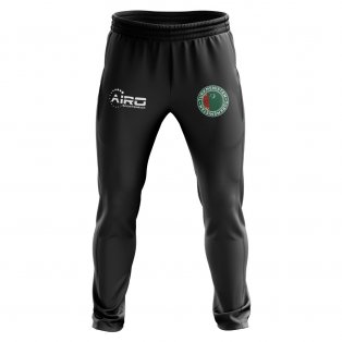 Turkmenistan Concept Football Training Pants (Black)