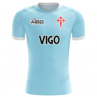 2020-2021 Celta Vigo Home Concept Football Shirt - Womens