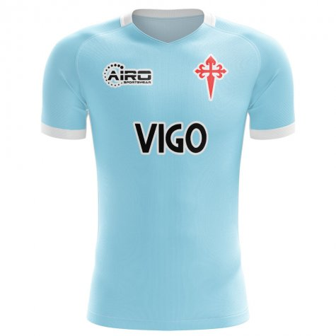 2019-2020 Celta Vigo Home Concept Football Shirt - Little Boys