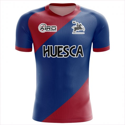 2020-2021 SD Huesca Home Concept Football Shirt - Little Boys