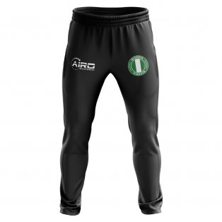 Nigeria Concept Football Training Pants (Black)