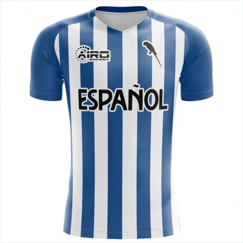 2020-2021 Espanyol Home Concept Football Shirt - Kids