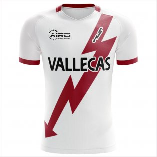 2019-2020 Rayo Vallecano Home Concept Football Shirt