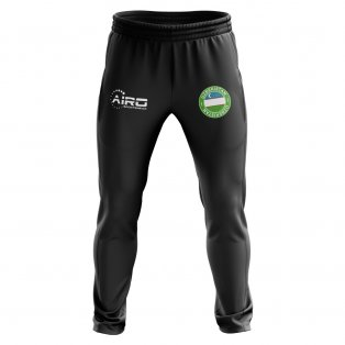Uzbekistan Concept Football Training Pants (Black)